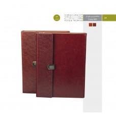 سالنامه وزیری یراق دار کد 609